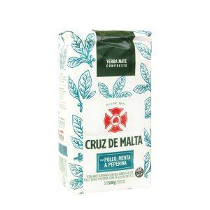 Yerba Mate Cruz de Malta Poleo, Menta and Peperina 500g