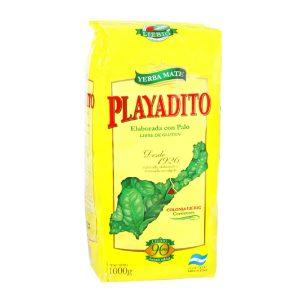 Yerba Mate Playadito con Palo 1000g