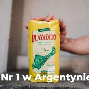 Yerba Mate Playadito numer 1 w Argentynie