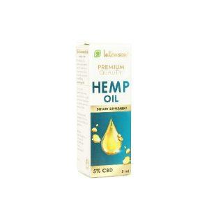 Hemp Oil 5% CBD Intenson