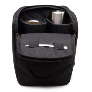 Una Mochila Matera Black inside pockets